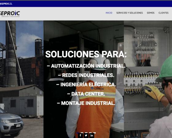 Diseño de páginas web, Santiago